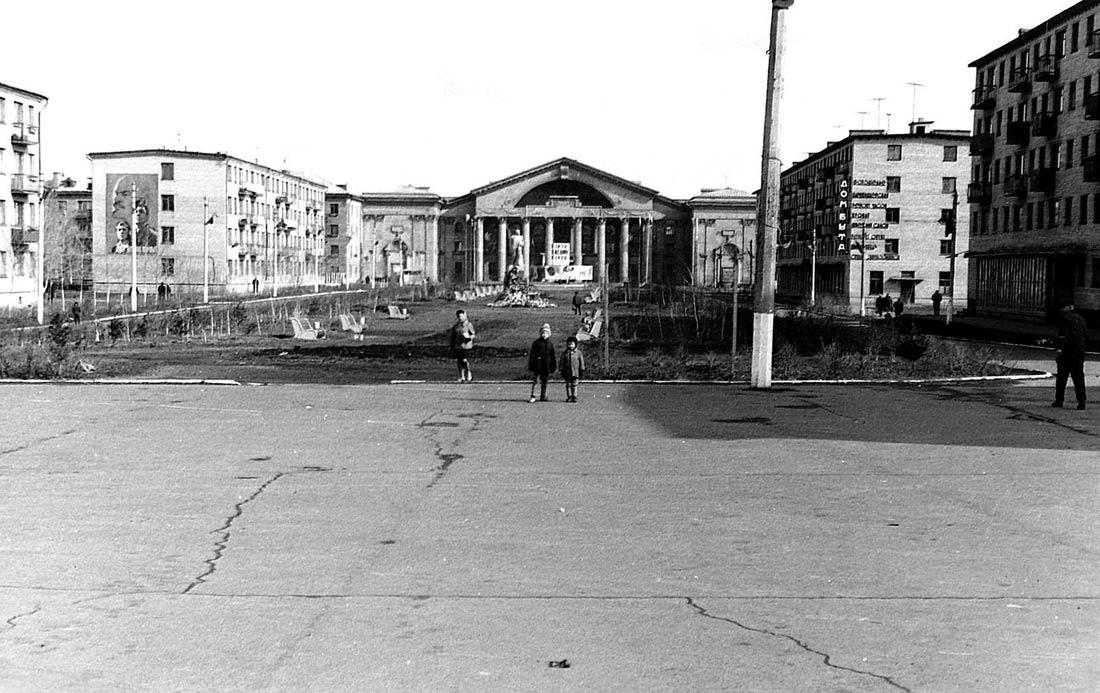 ДК Химиков и площадь 9 Января