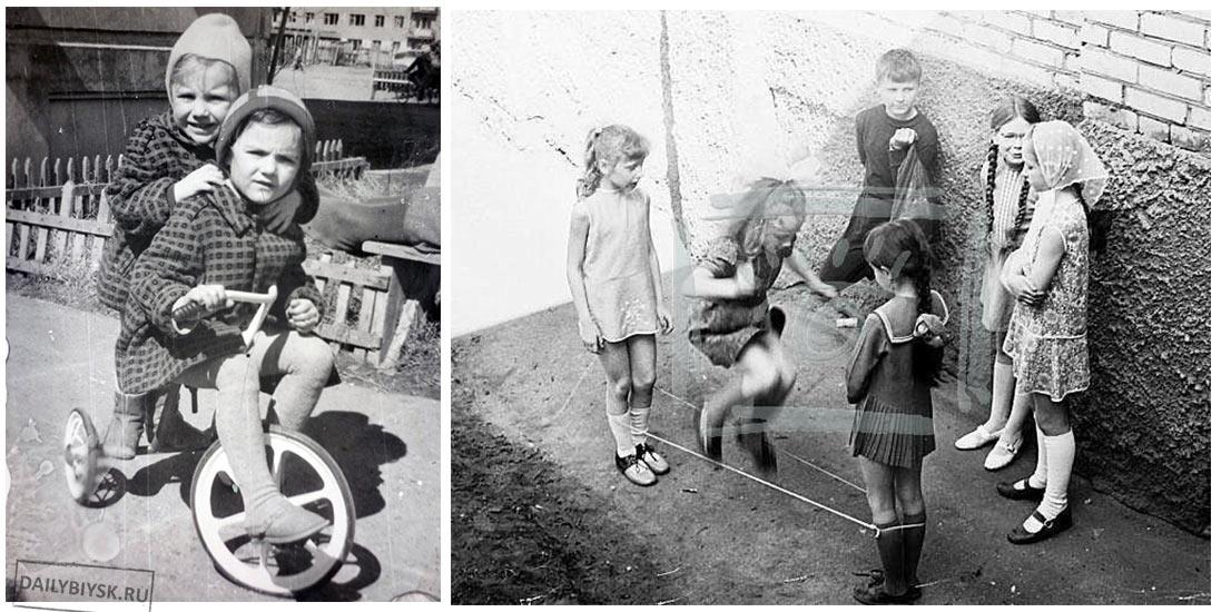 детство в бийске