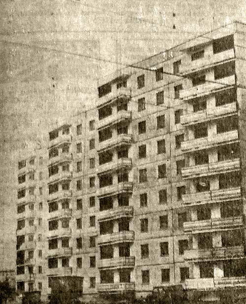 Бийск Девятиэтажный дом серии 111-90.