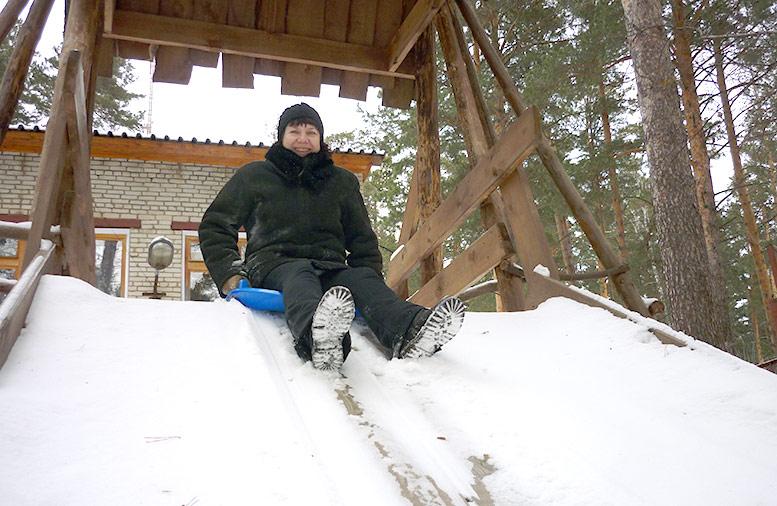 отдых зимой База отдыха Бийск