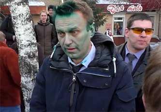 Алексей Навальный в Бийске