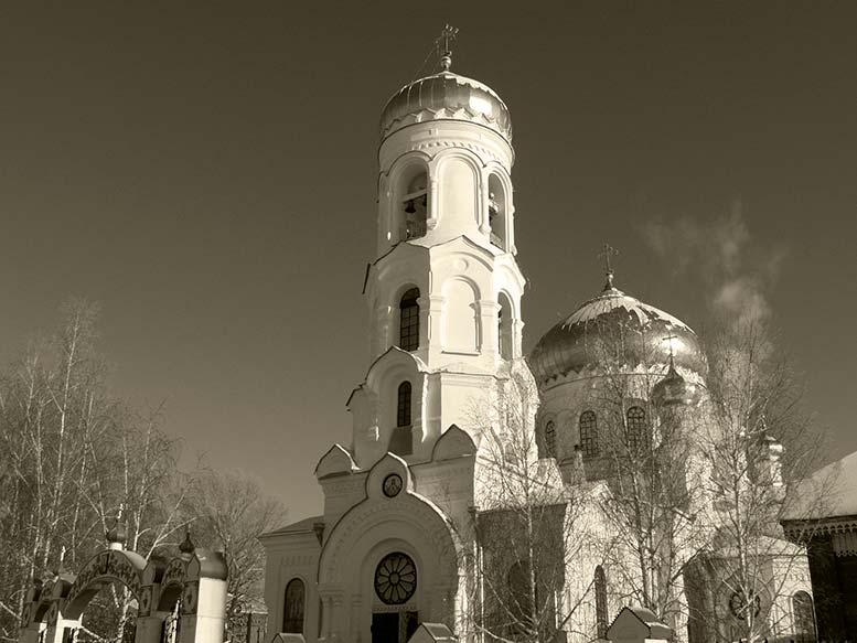 Успенская церковь бийск